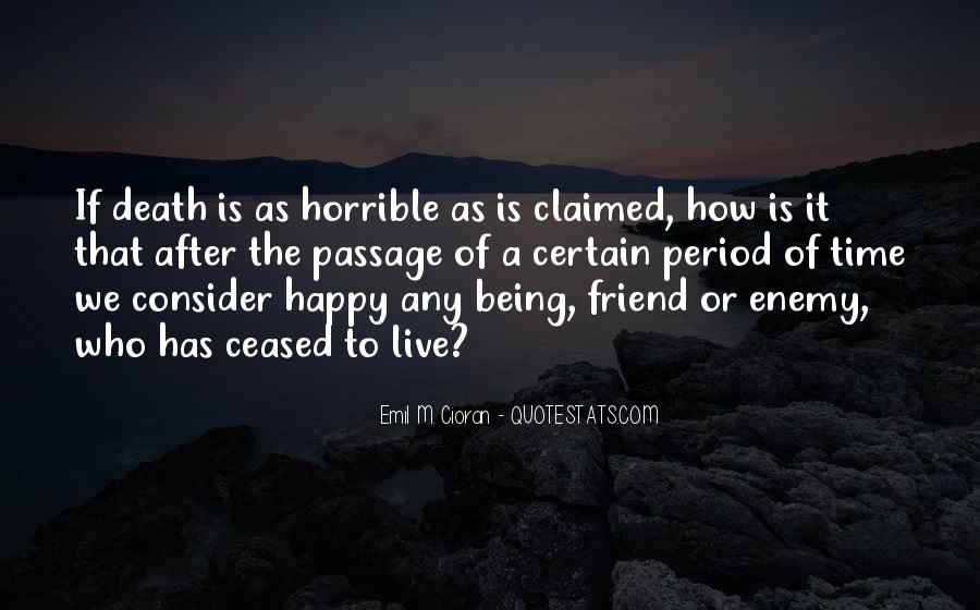 Quotes About Death Of A Friend #1219532