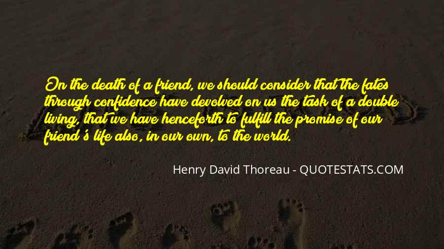 Quotes About Death Of A Friend #1597909