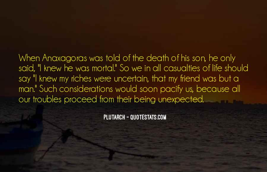 Quotes About Death Of A Friend #168369