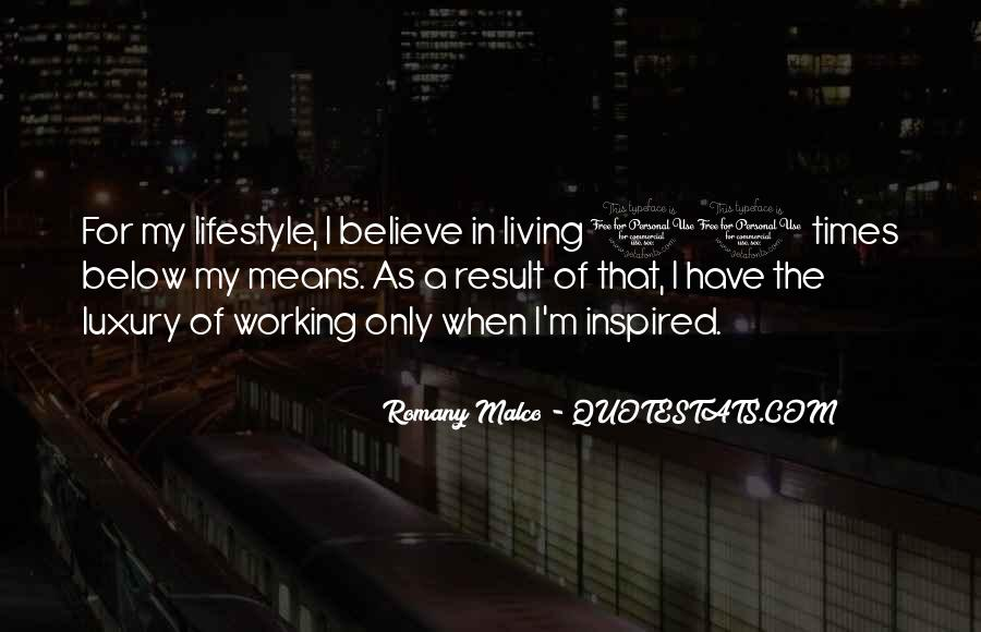 Quotes About Living Below Your Means #1723290