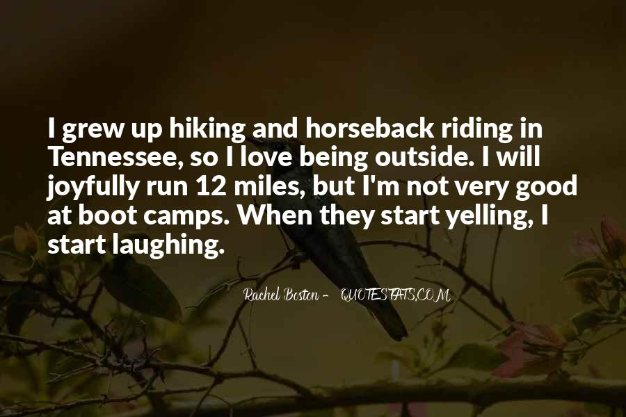 Quotes About Horseback Riding #15472