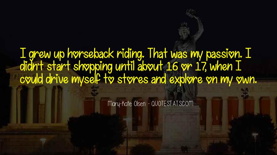 Quotes About Horseback Riding #580353