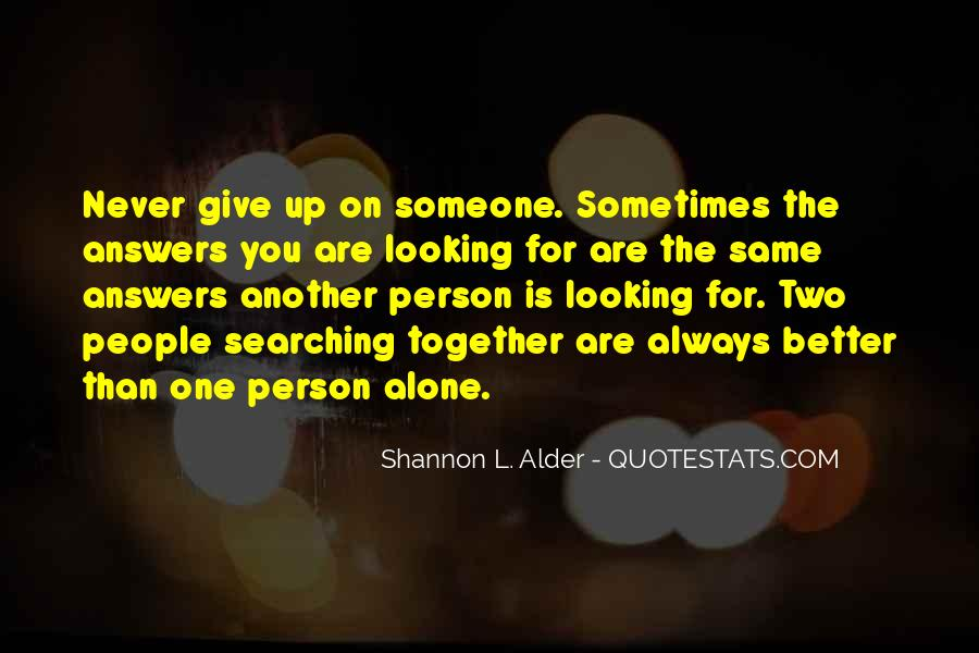 Quotes About Never Give Up On Someone You Love #1793626