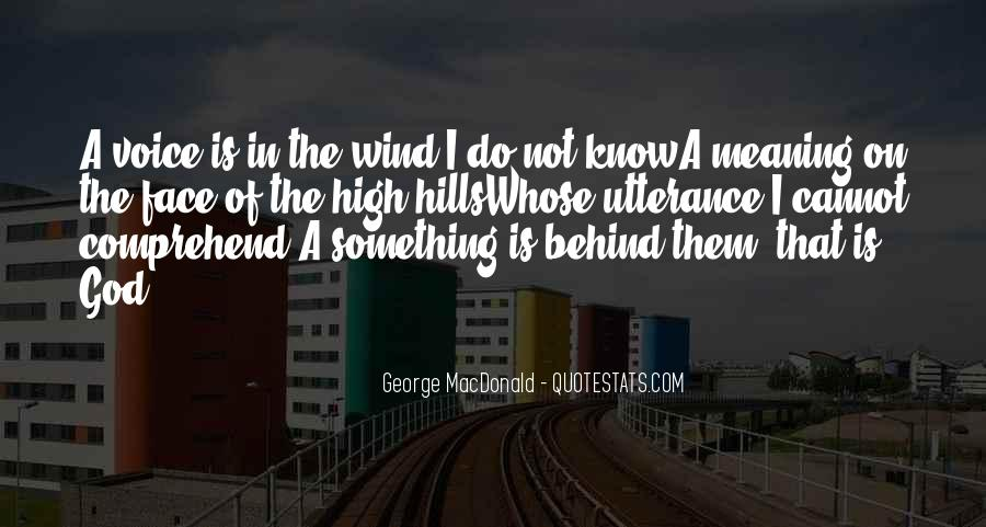 Quotes About The Hills #188184