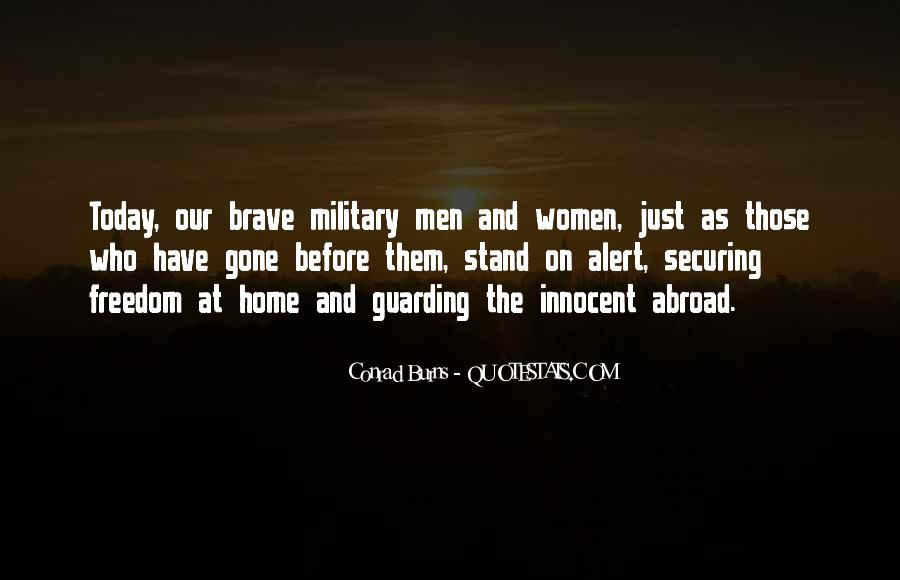 Quotes About The Military And Freedom #105918