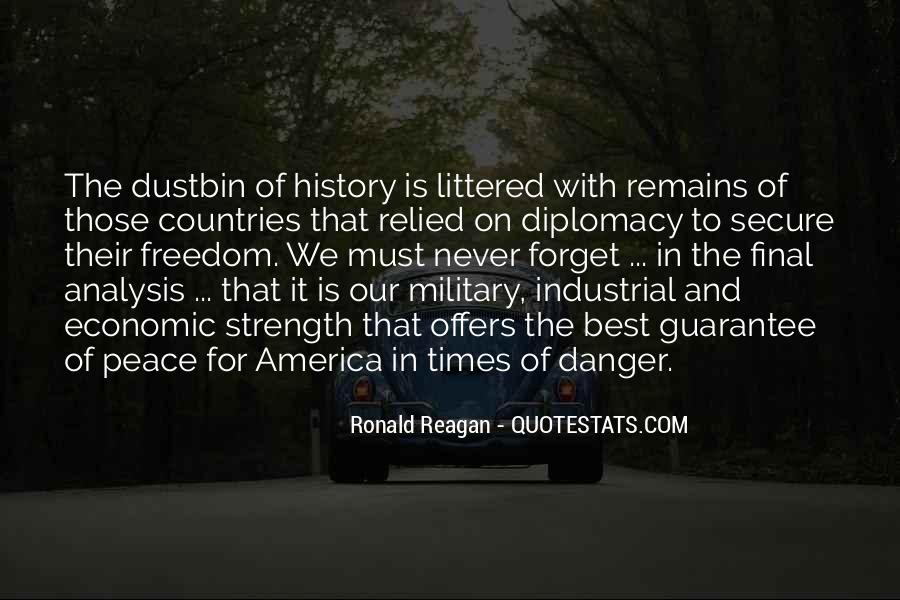 Quotes About The Military And Freedom #1229770