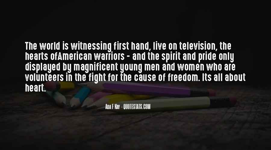 Quotes About The Military And Freedom #1480574