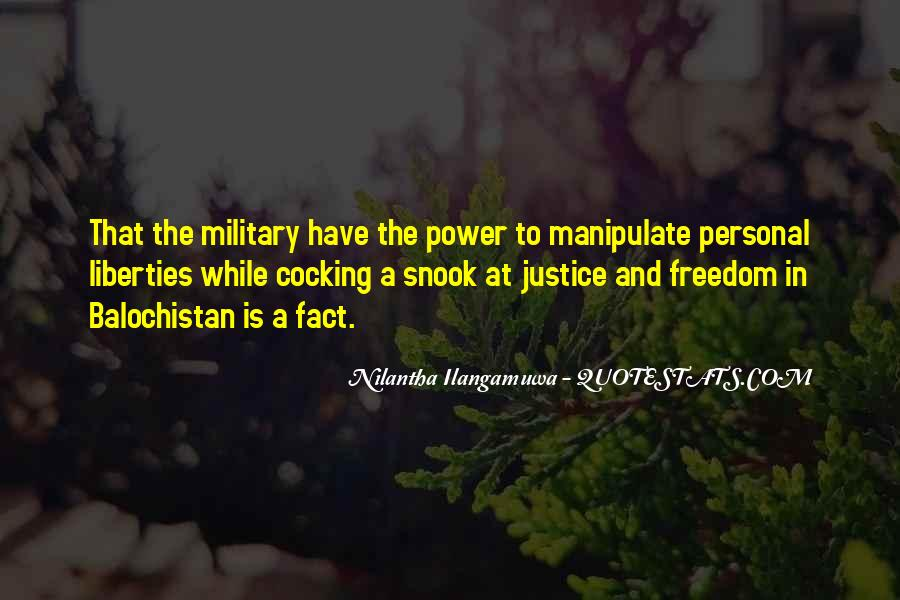 Quotes About The Military And Freedom #1609265