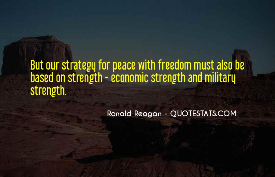 Quotes About The Military And Freedom #626991