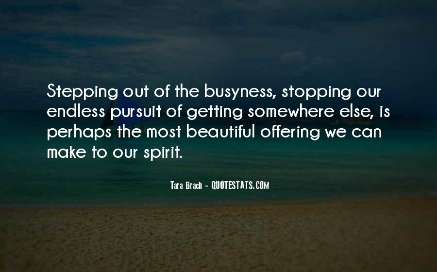 Quotes About Stopping #14093