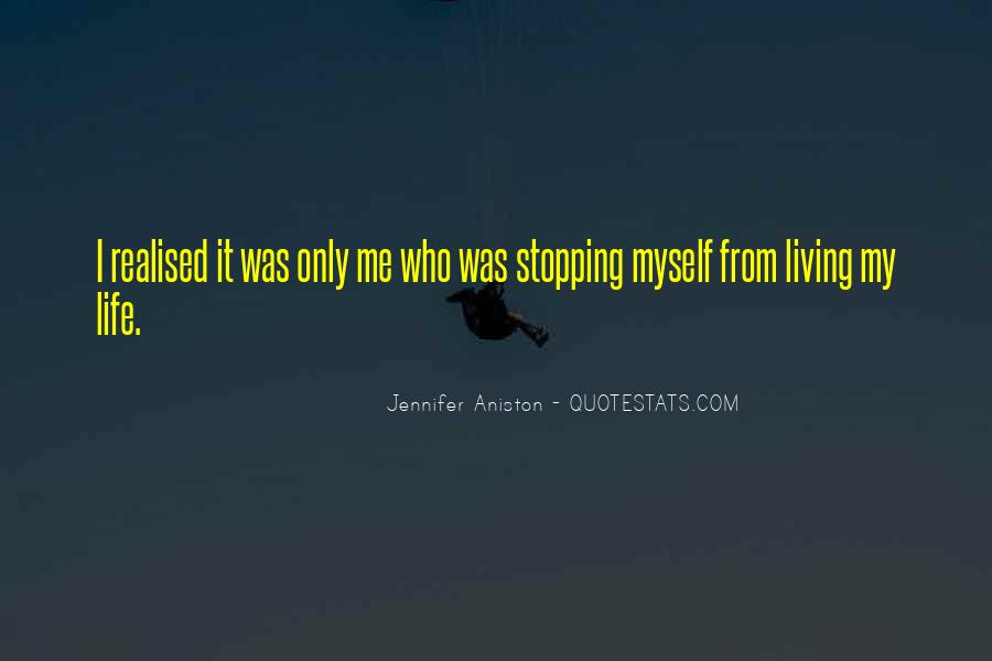 Quotes About Stopping #145490
