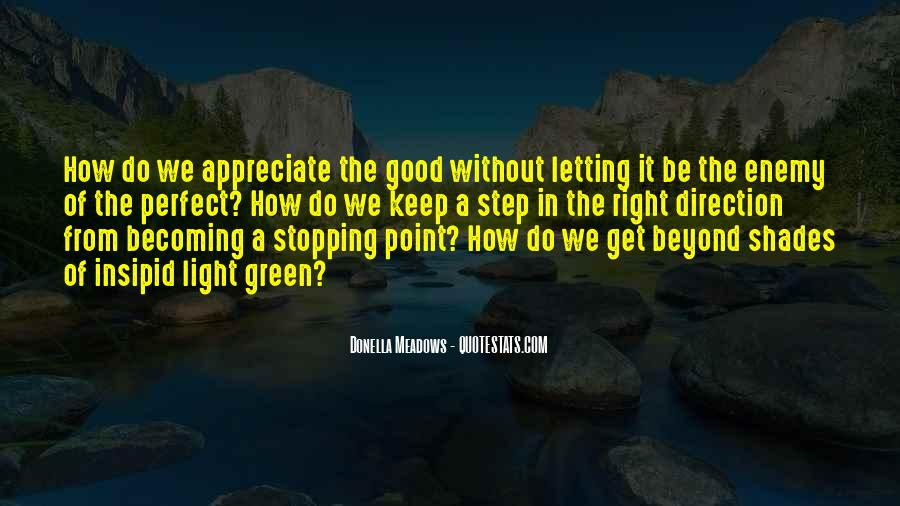Quotes About Stopping #180884