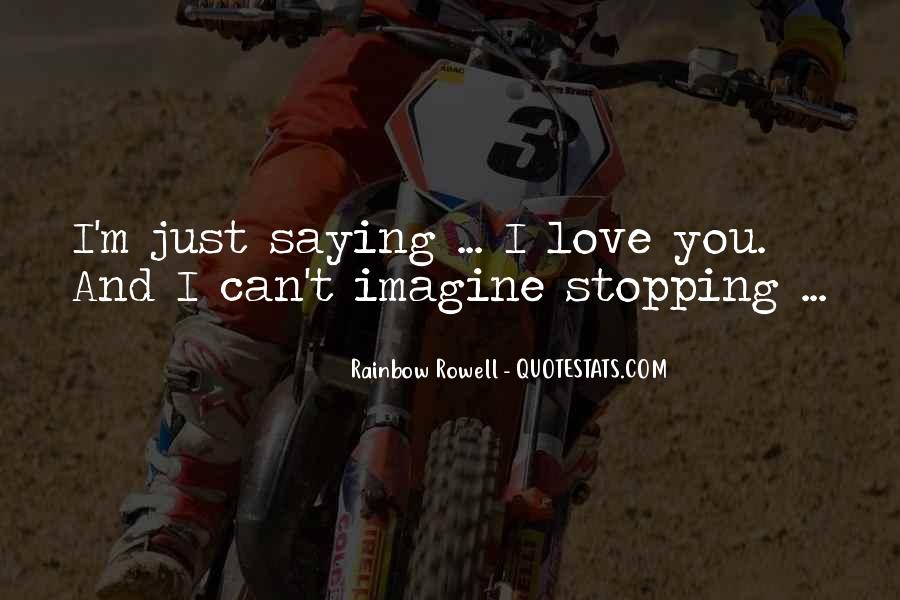 Quotes About Stopping #219625
