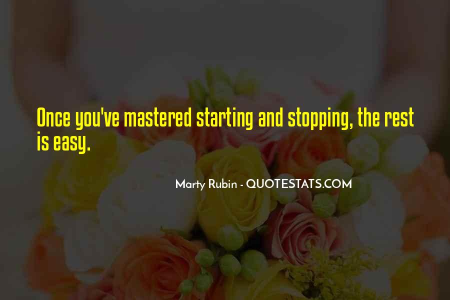 Quotes About Stopping #271804