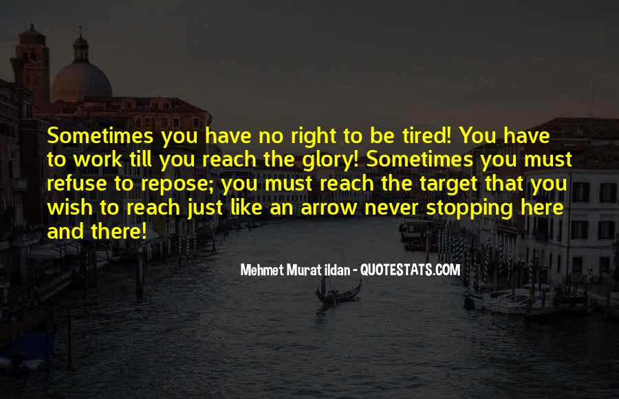 Quotes About Stopping #30048