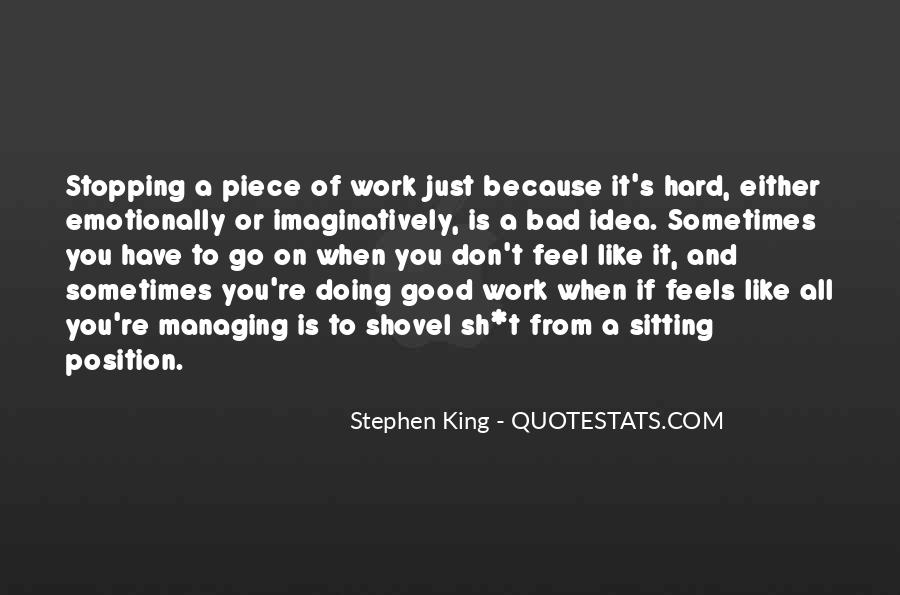 Quotes About Stopping #37853