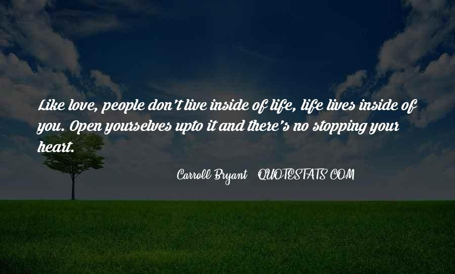 Quotes About Stopping #79531