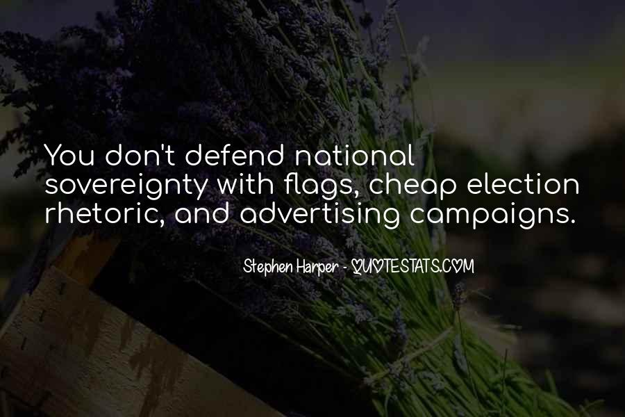 Quotes About Election Campaigns #1751775