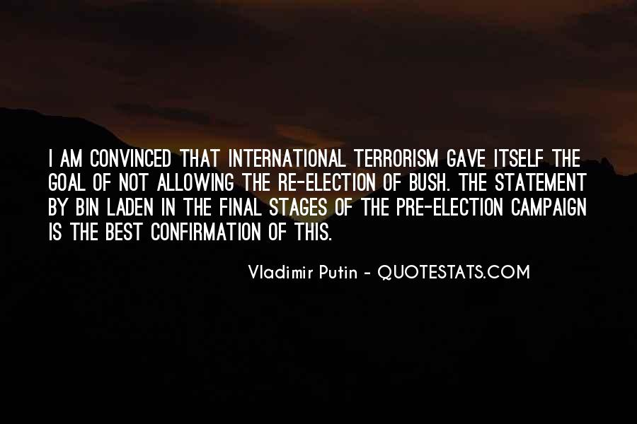 Quotes About Election Campaigns #432909
