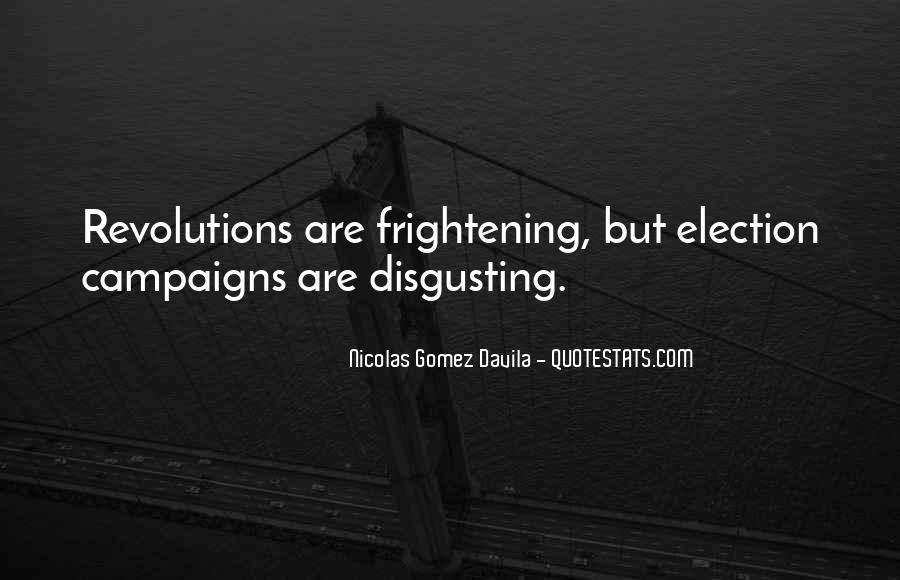 Quotes About Election Campaigns #634669