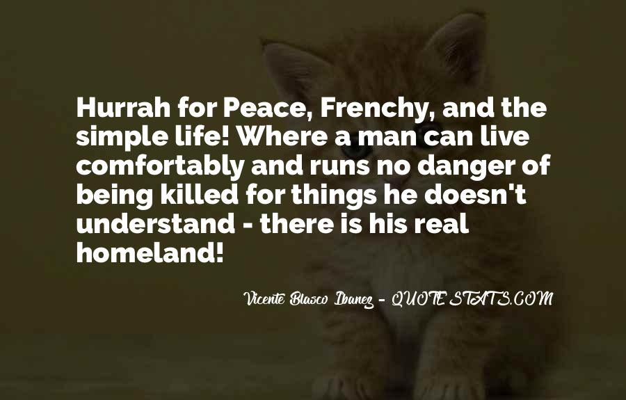 Quotes About Being Simple Man #200860