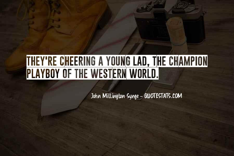 Quotes About Cheering #245492