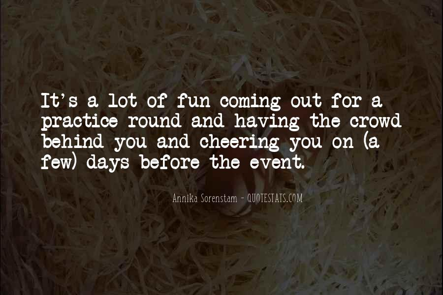 Quotes About Cheering #250556