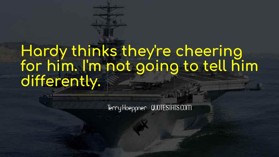 Quotes About Cheering #279975