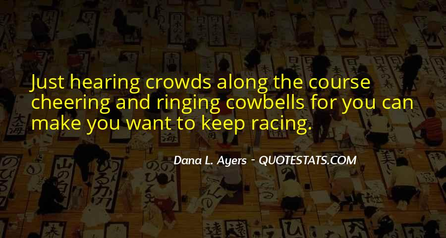 Quotes About Cheering #329229