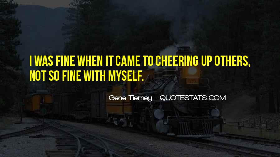 Quotes About Cheering #469609