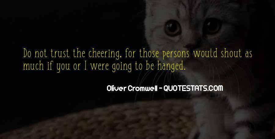 Quotes About Cheering #472197