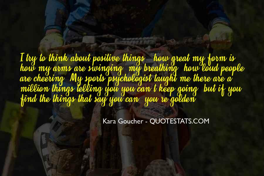 Quotes About Cheering #550093