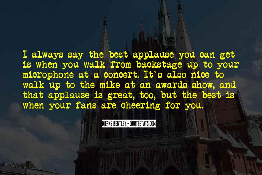 Quotes About Cheering #555895