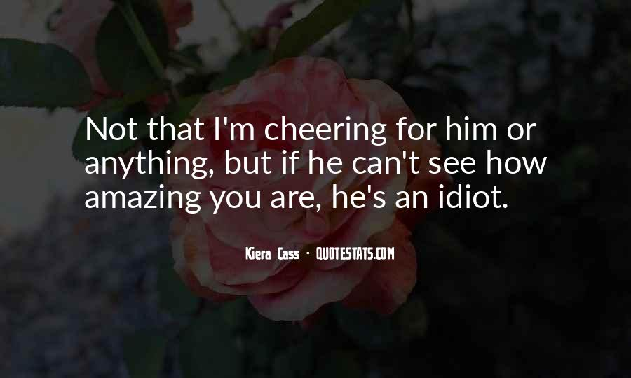 Quotes About Cheering #687194