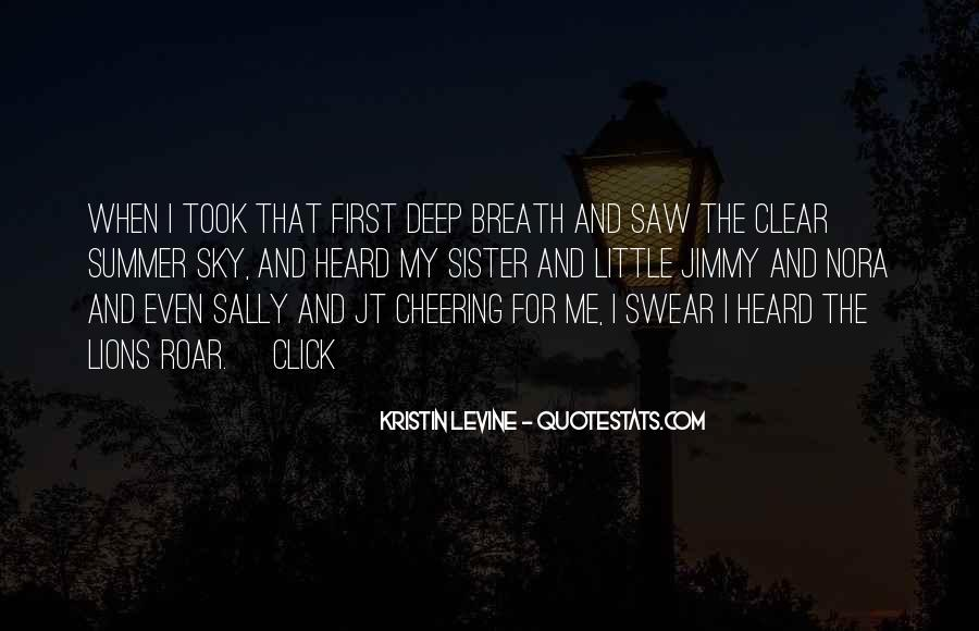 Quotes About Cheering #883962