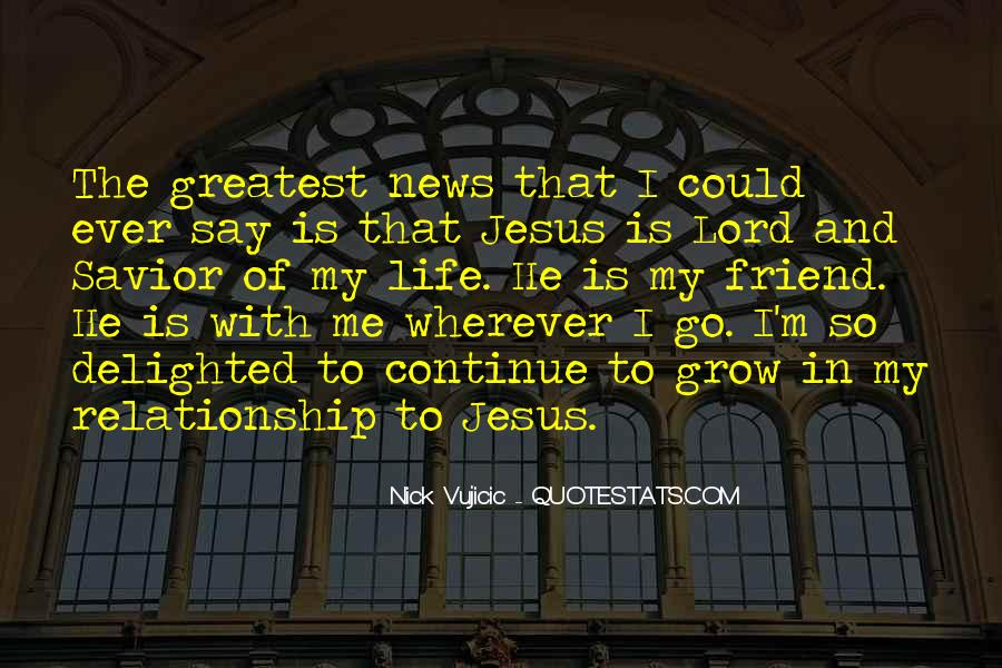 Quotes About Jesus In My Life #1000891