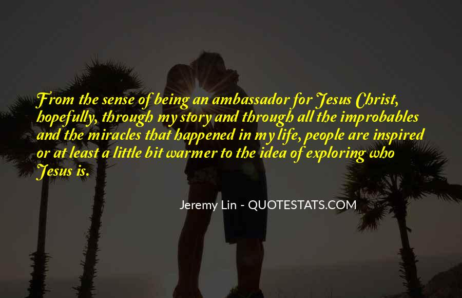Quotes About Jesus In My Life #1137799