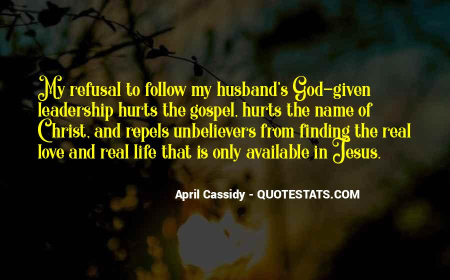 Quotes About Jesus In My Life #1168677