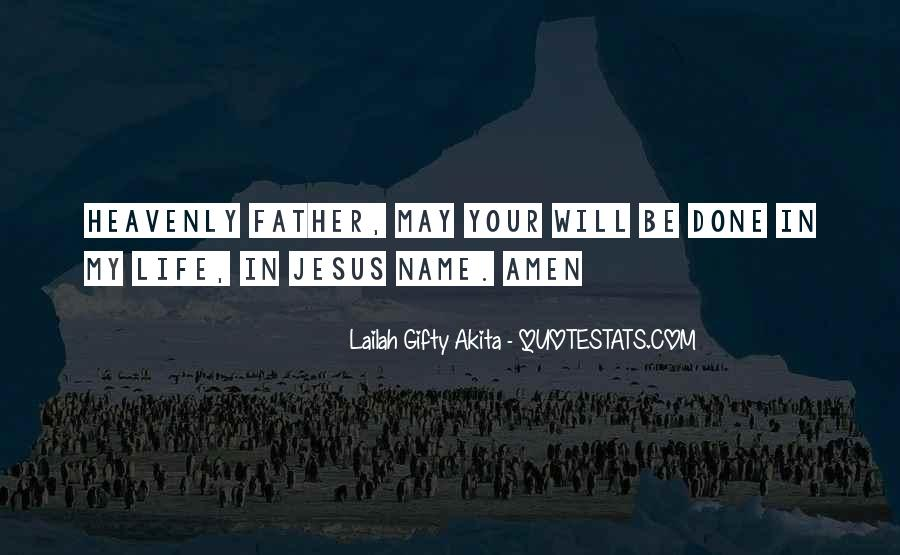 Quotes About Jesus In My Life #131244