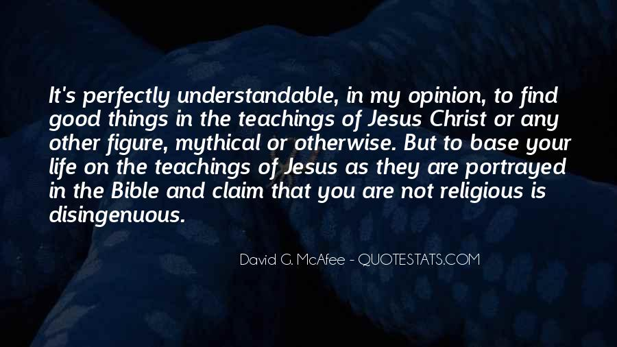 Quotes About Jesus In My Life #1625446