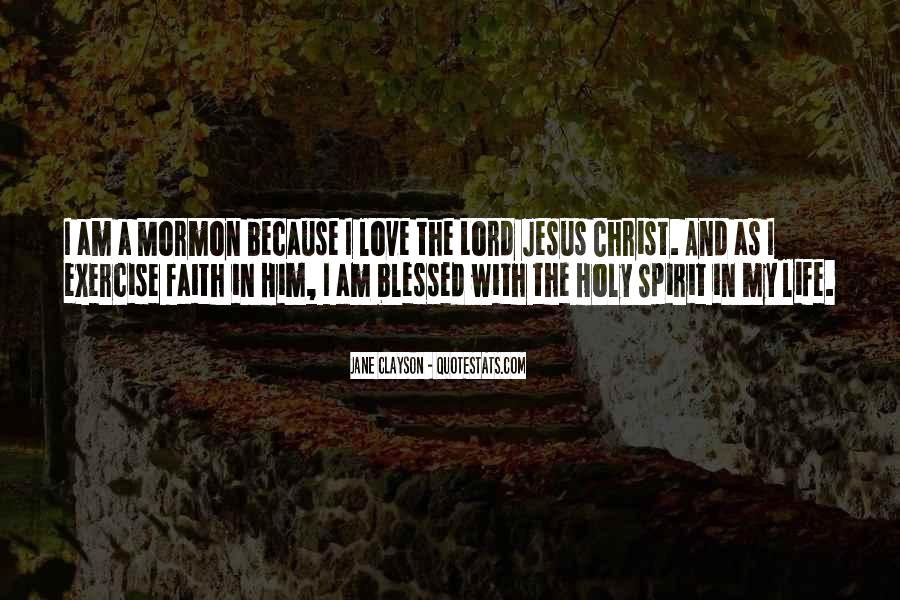 Quotes About Jesus In My Life #1693324
