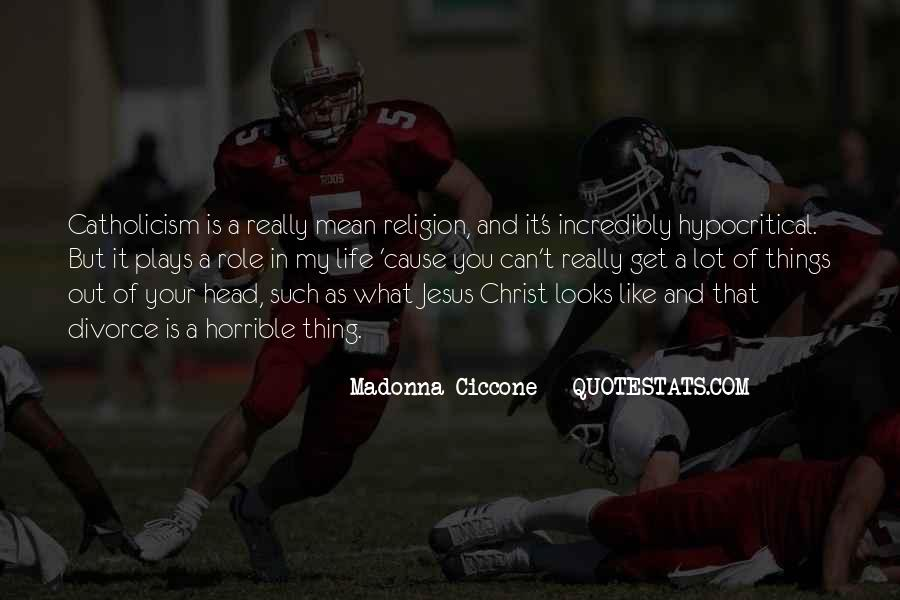 Quotes About Jesus In My Life #223622
