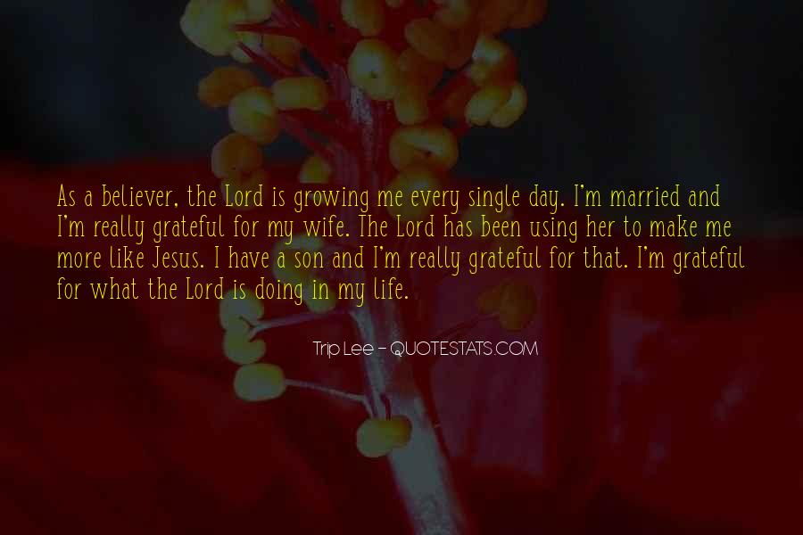 Quotes About Jesus In My Life #730459