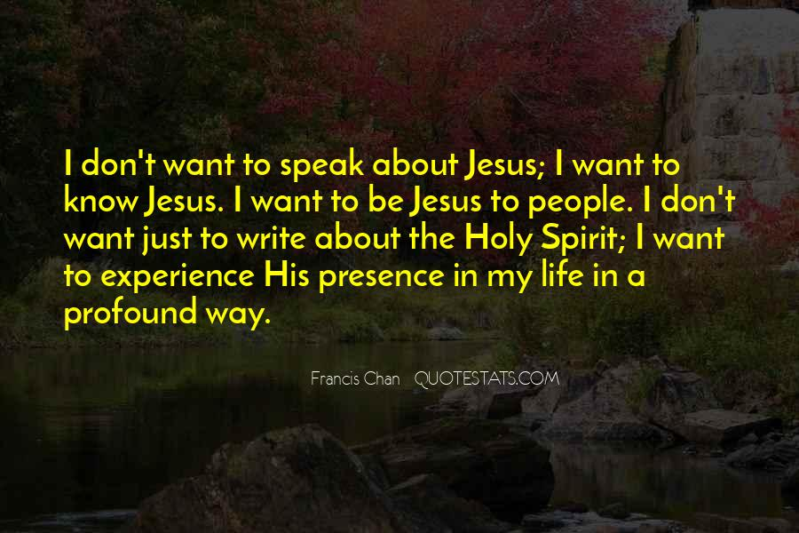 Quotes About Jesus In My Life #848937