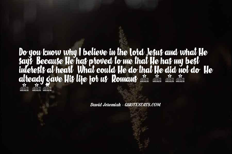 Quotes About Jesus In My Life #853902