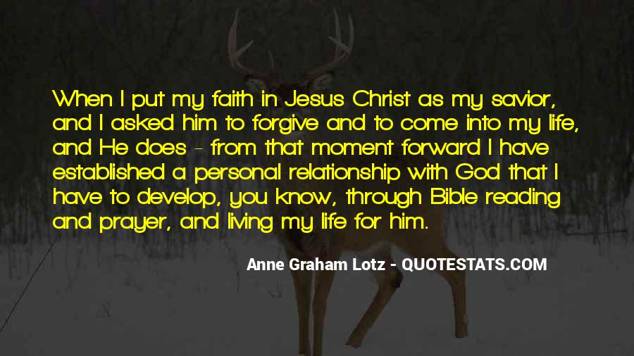 Quotes About Jesus In My Life #92849