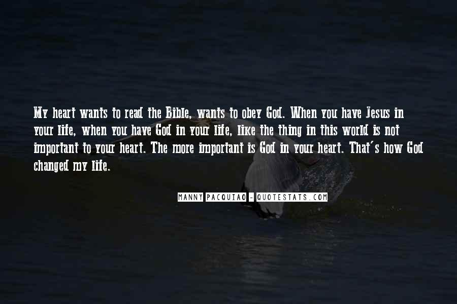 Quotes About Jesus In My Life #931256
