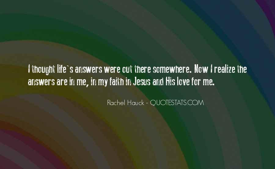 Quotes About Jesus In My Life #943792