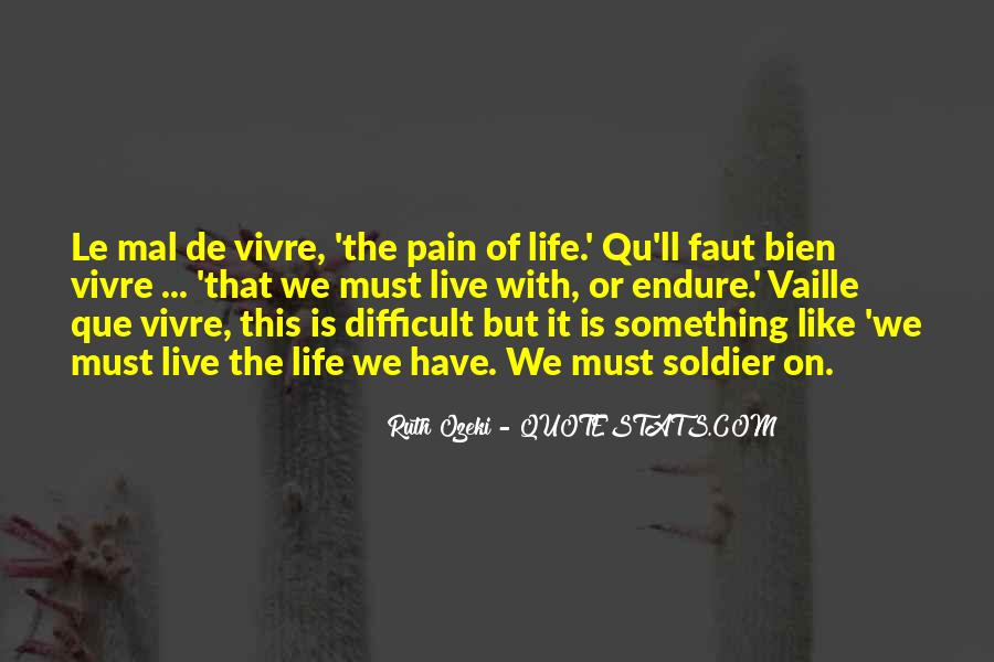 Quotes About Endure #156