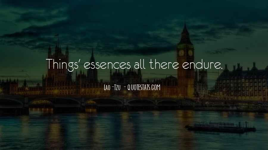 Quotes About Endure #2283